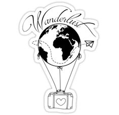 Travel tattoo ideas wanderlust inspiration ideas for 2019 Mini Tattoos, Trendy Tattoos, Love Tattoos, New Tattoos, Body Art Tattoos, Small Tattoos, Tatoos, Arm Tattoos For Guys, Future Tattoos