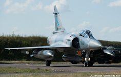 French Armée de l'Air Dassault Mirage 200D-5 at Air Base 116, Luxieuil.
