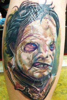 Tattoo Artist - John Pohl - horror tattoo