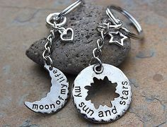 Moon of My Life, My Sun and Stars Key Chains- Game of Thrones Inspired Pendants in Clothing, Shoes & Accessories, Women's Accessories, Key Chains, Rings & Finders | eBay