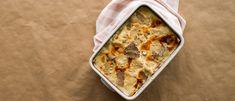 Recipes - Portobello mushroom lasagne with summer truffle - Giovanni Rana Rana Pasta, Bechamel Sauce, Mushroom Sauce, Portobello, Casserole Dishes, Cooking Time