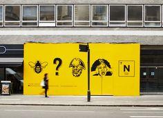 Byron Hamburgers - Hoarding by Charlie Smith Design
