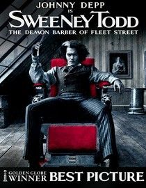 In this adaptation of the hit Broadway musical, vengeful Sweeney Todd becomes a deranged murderer after being falsely imprisoned by a sinister judge. To cover his tracks, Todd enlists the help of a baker whose meat pies become the toast of London..