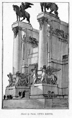 Architecture Mapping, Architecture Drawings, Futuristic Architecture, Historical Architecture, Amazing Architecture, Architecture Details, Arcology, Architectural Sculpture, Neoclassical Architecture