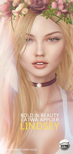 https://flic.kr/p/De8R6x | ::Bold & Beauty:: Lindsey Skin Catwa Applier. | Lindsey skin will be available at @ MainStore. - Wearing Gwen Head by Catwa - 4 Tones -(are sold separately) 30 Lipsticks -(are sold separately) soon update 15 Shadows -(are sold separately) Included with purchase is - Base Skin - Eyebrow Options Without eyebrows, blond, red, black, brown) - and Catwa Applier Try the demo before you buy <3 maps.secondlife.com/secondlife/Lyon/116/106/22 Subscribe: FACEBOOK ...