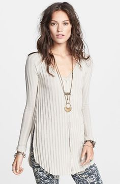 Free People 'Beach Babe' Hacci Top available at #Nordstrom