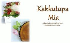 Kakkutupa Mia: Paras kahvikakku Tableware, Food, Kids, Dinnerware, Tablewares, Essen, Meals, Dishes, Place Settings