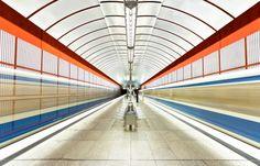 Beautiful Subway Stations Photography
