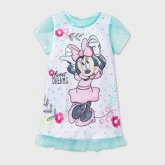 Toddler Girl Outfits, Toddler Girls, Toddler Nightgown, Minnie Mouse Bedding, Designer Baby Clothes, Night Gown, Cute Babies, Little Girls, Dolls