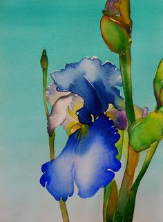 I have worked on an IRIS TUTORIAL for my watercolor class next week. It will be a simple project to illustrate how I achieve a...