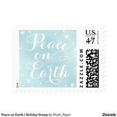 Peace on Earth | Holiday Postage Stamp