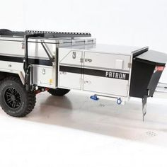 Black series Camper Trailer Off Road Camper Trailer, Trailer Hitch, Camper Trailers, Forward Fold, Tiny Trailers, Black Series, Innovation Design, Boat