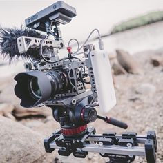 Another great photo here by @harrisonslens of a slick Edelkrone slider setup using a Sony A7sii. by film.rev