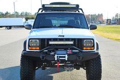 Jeep Xj Light Bar - Lighting is an essential part of your vehicle especially for night-time driving. Jeep Wrangler For Sale, Jeep Wrangler Lifted, Jeep 4x4, Jeep Truck, Lifted Jeeps, Jeep Cherokee Xj, Cherokee Laredo, Cherokee Nation, Truck Accesories