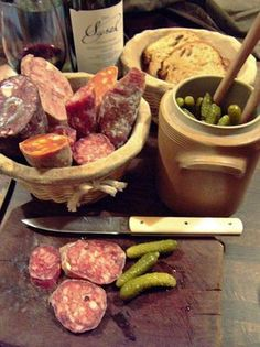 Charcuterie- well presented in an authentic way. looks indulgent and simple. the good life, eat well!!