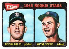 431 - Cardinals Rookies - Nelson Briles - Ed Spiezio RC