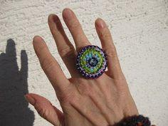 Crocheted ring [Häkelring]