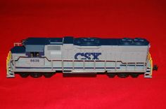 CSX Railroad HO Scale Engine Model Train Model by Toys4Bigboys, $55.00