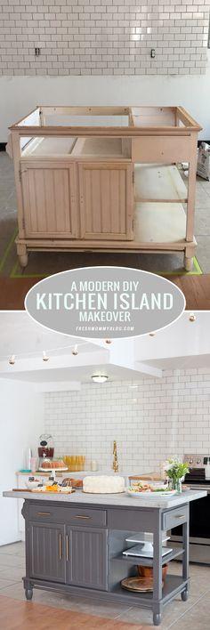 A Modern DIY Kitchen