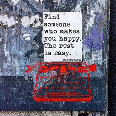 someone. or something. or both. Photo Credit: @allyouseeiscrimeinthecity #WRDSMTH #WRDSMTHinSF #flashback