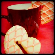 My coffee cup cookies! http://www.facebook.com/Loganscrumbluvincakery