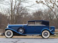 1932 Auburn V12 160A Custom Dual Ratio Phaeton Sedan