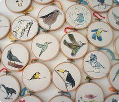 Bird Hoops - I love these!