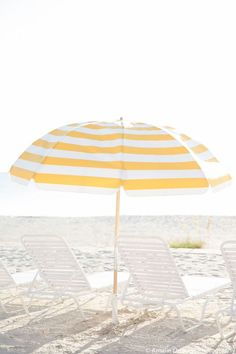 Gasparilla Inn in Boca Raton, Florida, white and yellow umbrella Yellow Umbrella, Beach Umbrella, Sun Umbrella, Beach Aesthetic, Summer Aesthetic, Beach Look, Beach Bum, Summer Breeze, Summer Vibes