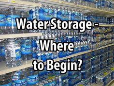 If you have enough room and don't want to worry about hauling water from a pond, here's what you need to know about water storage.