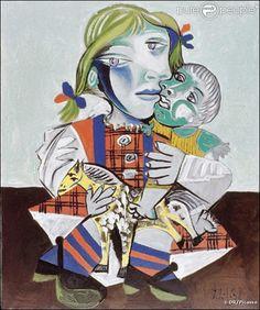 picasso - maya à la poupée