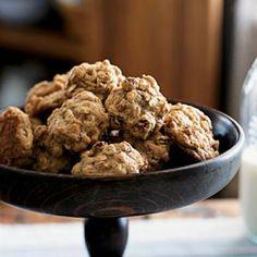 Healthy Oatmeal-Walnut Cookies Recipe