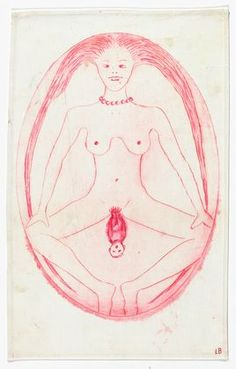 Louise Bourgeois - The Cross-Eyed Woman Giving Birth, 2005