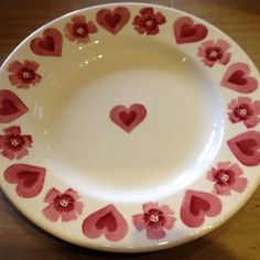 Emma Bridgewater sample plate for collectors day - 18th March 2014