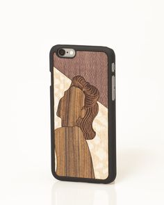 """Edith """"Valuable Leisures"""" iPhone cover by Wood'd"""