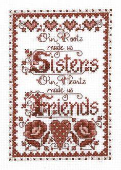 Sisters - Cross Stitch Patterns & Kits - 123Stitch.com