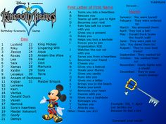 Kingdom Hearts Birthday Scenario Game: Luxlord rescues me because he lost a bet. What's yours?