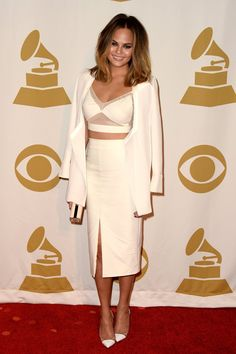 Pin for Later: Die 35 heißesten Outfits von 2014 Chrissy Teigen