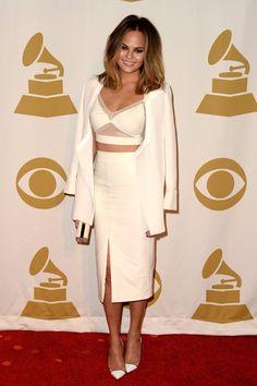 Pin for Later: Die 35 heißesten Outfits von 2014 Chrissy Teigen