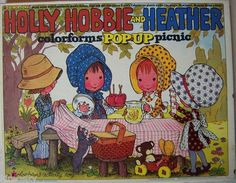 Vintage 1970s 1980s Holly Hobbie Heather Colorforms Pop Up Picnic Playset RARE | eBay