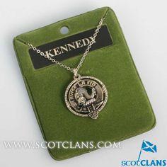 Kennedy Clan Crest Pendant