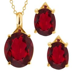 9.17 Ct Oval Ruby Red Mystic Quartz 14K Yellow « Holiday Adds