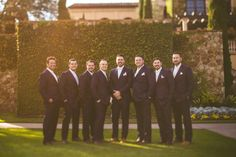 Chic White Wedding, Groomsmen| Bella Collina | Concept Photography | Vangie's Events of Distinction