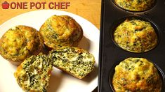 NEW VIDEO: Spinach and Feta Mini Frittatas! Watch the full recipe video here: http://youtu.be/EOwONZn3Y7A