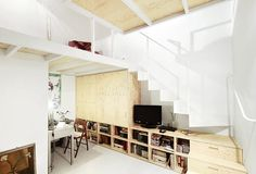 Dissecting the plywood interiors trend, we look at 57 rooms with plywood floors, ceilings, and walls, including bedrooms, living rooms, and kitchens.