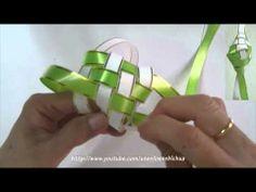 TUTORIAL - How to weave a ketupat casing