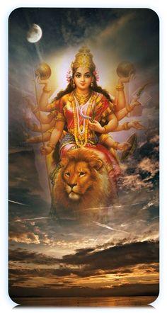 Navratri Puja will help you overcome all your negativities. Flourish with wealth on this Navratri by offering Homam to Lakshmi, Saraswathi & Durga. Durga Puja, Maa Durga Hd, Lord Durga, Maa Durga Photo, Maa Durga Image, Shiva Parvati Images, Saraswati Goddess, Durga Images, Shiva Hindu