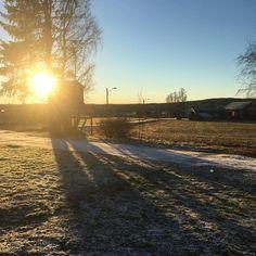 En fin vintermorgon i Umeå!