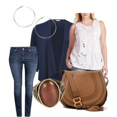 simple sophistication by redneckgrl on Polyvore featuring polyvore fashion style Lucky Brand M&Co H&M Chloé Boohoo
