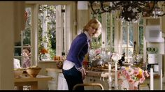 Cottage House in Bewitched Movie, Kitchen 6 - Pinned Cottage Shabby Chic, Romantic Cottage, White Cottage, Romantic Homes, Cozy Cottage, Cottage Style, Bedroom Romantic, Cottage Farmhouse, Cottage Ideas