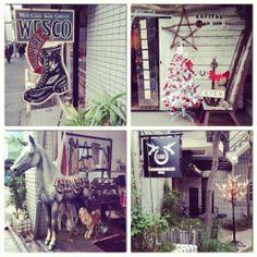Ebisu, Tokyo. Wesco, Kapital, Hemmingbird's hill. West Coast Shoes, Tokyo Style, Shoe Company, November 2013, Tokyo Fashion, Ladder Decor, Home Decor, Decoration Home, Room Decor